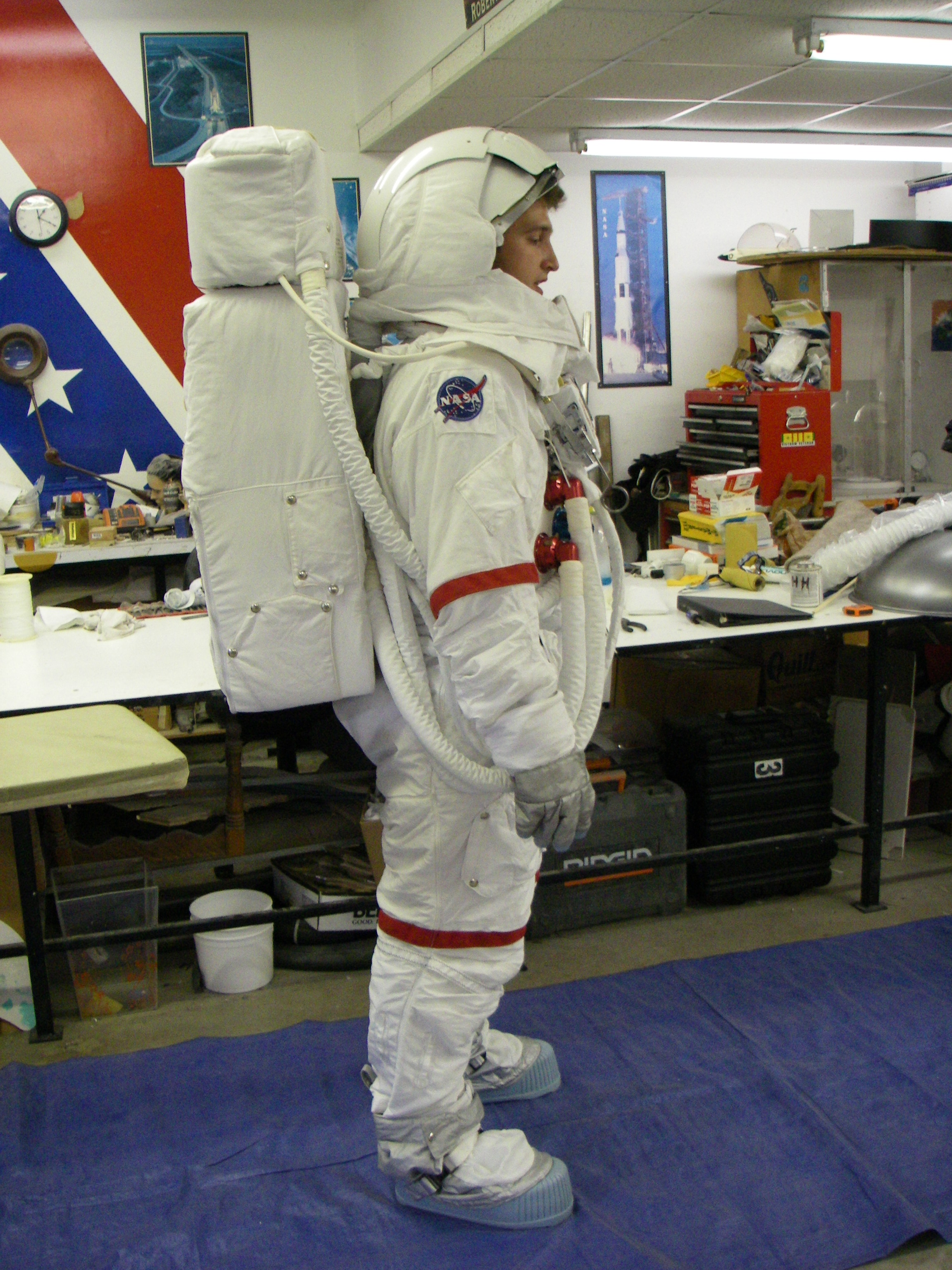apollo space suit parts - photo #28